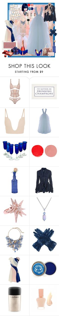 """Champagne Dreams"" by verysmallgoddess ❤ liked on Polyvore featuring Agent Provocateur, John Lewis, Fashion Forms, Hamda Al Fahim, NOVICA, Wander Beauty, Christian Louboutin, WalG, CC SKYE and Kendra Scott"