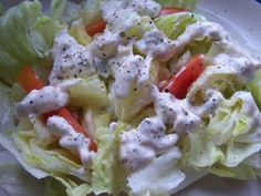 Northwoods Inn Creamy Buttermilk Blue Cheese Dressing Recipe - Food.com
