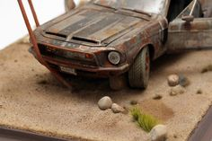 1:18 FORD MUSTANG SHELBY GT500K 1:18 DIORAMA abandoned in steppe | eBay