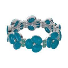 Dana+Buchman+Cluster+Stretch+Bracelet