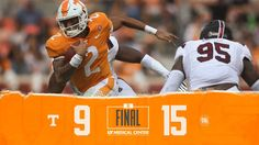 Tennessee football lost yet another game because of terrible red zone offense