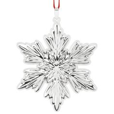 2016 Holiday Snowflake Ornament | Reed and Barton Christmas Ornament