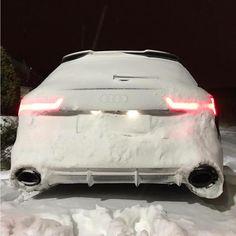 #Audi#RS6#❄️❄️