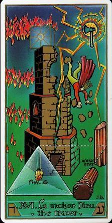 The Tower - Masonic Tarot The Tower Tarot Card, Tower Of Babel, Online Tarot, Love Tarot, Tarot Major Arcana, Adult Crafts, Oracle Cards, Tarot Decks, Magick