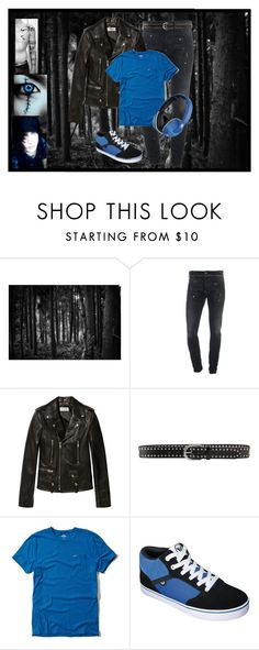 """""""Creepypasta oc Jace (bio in the d)"""" by mikaela-madrid ❤ liked on Polyvore featuring Dsquared2, Yves Saint Laurent, Linea Pelle, Hollister Co., Skullcandy and CreepypastaOC"""