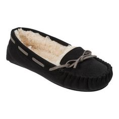 Slip into the Dearfoams Microsuede Moccasin Slippers for a comfortable  walking experience. We ve e652b9e1e