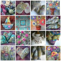 Lovely colours Craft Things, Felting, Colours, Crafts, Manualidades, Handmade Crafts, Craft, Crafting