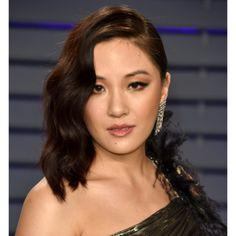 We are head over heels in love with these #Oscars looks from the red carpet! What Hollywood glamour look inspires you? Check out mghairandmakeup.com to see how you can get your dream look! #oscars2019 #hairandmakeup #love #inspiration #repin  -  Constance Wu on the other hand let her hair down after the awards ceremony and slipped into a gold dress that looked... Asian Hair And Makeup, Hair Makeup, Celebrity Hairstyles, Down Hairstyles, Samira Wiley, Constance Wu, Rashida Jones, Texturizer On Natural Hair, Ashlee Simpson
