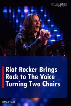 """Todd Michael Hall from Michigan may have just become a rock hero after his brilliant season eighteen blind audition on The Voice. Foreigner's """"Juke Box Hero"""" was delivered with such energy, enthusiasm and bold rock and roll showmanship that two of the coaches had to have him. #Foreigner #TheVoice #BlindAuditions #TalentShow #Singing #TVShows #Music"""