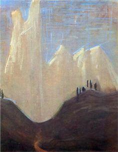 Mikalojus Ciurlionis (1875 - 1911) | Symbolism | My road (I) - 1907