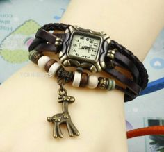 Giraffe watches wrist watches bracelets watches by YOURGIFTS, $11.99 I love this!!!!