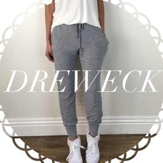 • Reserved • for Dreweck • Light Grey Joggers (S) • Blush Thermal Top (S) Other