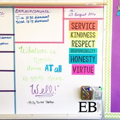 Classroom decor and organization ideas for the new school year