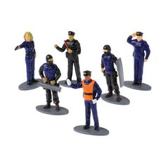 Police Figurines Cake Topper Toys 12 Pcs -- Awesome products selected by Anna Churchill