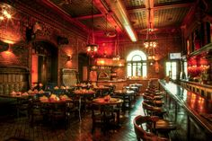 15 Secret Bars You Need To Visit. Owl Bar: This place is just about as stunning as it comes. What's more, it's located in the back of a hotel-turned-apartment building. (Bonus points for the brick-oven pizza.) 1 E. Baltimore Bars, Baltimore Maryland, Secret Bar, Speakeasy Bar, My Kind Of Town, Looks Cool, Restaurant Bar, Places To Go, Jazz