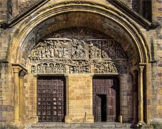 Abbaye Sainte-Foy -  Conques, Aveyron (France) - Crédit Photo : Papipat