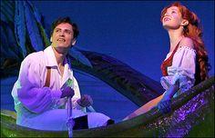 """Sean Palmer & Sierra Boggess in """"The Little Mermaid"""""""