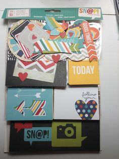 New simple stories at Michaels