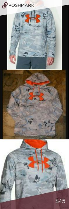Men's under armour storm camo big logo NWT Hoodie  size 2XL. (Ts) Under Armour Shirts Sweatshirts & Hoodies