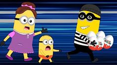 Minions Banana Fight Over GIANT Ice Cream New Episodes! Daddy Finger Family Song Nursery Rhymes - YouTube