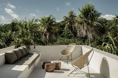 Tulum Treehouse, Interior Concept by Annabell Kutucu & CO-LAB Design Office - Terrasse Be Tulum Hotel, Tulum Hotels, Design Hotel, Outdoor Spaces, Outdoor Living, Outdoor Decor, Indoor Outdoor, Casa Cook Hotel, Patio Design