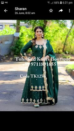 Bridal Suits Punjabi, Punjabi Suits Party Wear, Party Wear Indian Dresses, Designer Party Wear Dresses, Indian Gowns Dresses, Dress Indian Style, Unique Dresses, Latest Punjabi Suits, Silk Kurti Designs