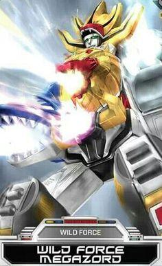 Power Rangers Wild Force Megazord
