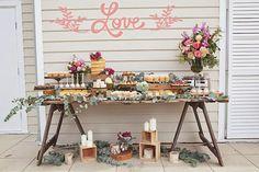 Coisas da Lívia: Inspiração para noivado rústico