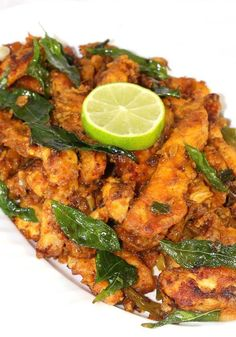 Chicken Majestic recipe is made with long thin chicken strips that are very well marinated with yogurt and spices then shallow fried and . Best Indian Chicken Recipe, Indian Chicken Dishes, Best Chicken Recipes, Indian Dishes, Veg Recipes, Curry Recipes, Indian Food Recipes, Asian Recipes, Cooking Recipes