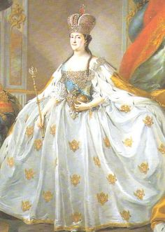 catherine the great | Portrait of Empress Catherine the Great. 1793