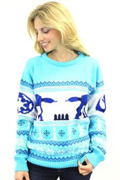 Star Wars AT-AT Ladies Christmas Sweater Jumper