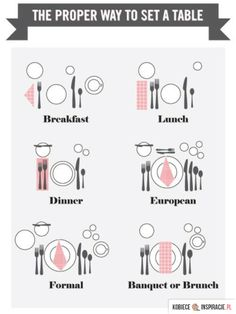 Funny pictures about The proper way to set a table. Oh, and cool pics about The proper way to set a table. Also, The proper way to set a table. Dining Etiquette, Table Setting Etiquette, Etiquette Dinner, Engagement Party Etiquette, Etiquette And Manners, Deco Table, Plan Your Wedding, Wedding Ideas, Wedding Blog
