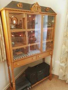 China Cabinet, Dollhouse Miniatures, Storage, Furniture, Home Decor, Purse Storage, Decoration Home, Chinese Cabinet, Room Decor