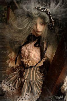 Midnight by Lydéric et siiara's dolls, via Flickr