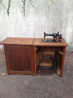 Nähmaschine Pfaff 260 im Tisch | pfaff | Pinterest