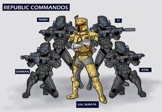 Omega Squad and Kal by KickAwesome.deviantart.com on @DeviantArt