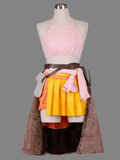 Final Fantasy 13 Oerba Dia Vanille Cosplay