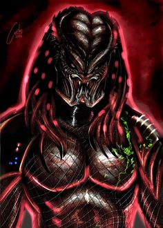 Red Predator by cantas78