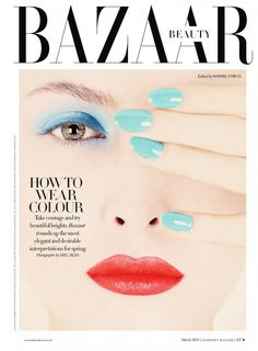 Amanda Hendrik by Mel Bles for Harper's Bazzar UK March 2013