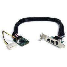Belkin F5U504 Ver 1.0 FireWire 3‑Port Firewire Adapter PCI Express Card