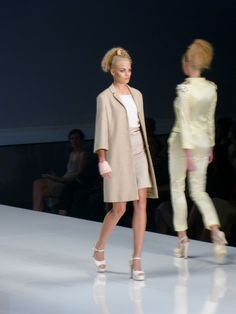 Model at Michael Michalsky (StyleNite) Spring/Summer 2013 - Mercedes Benz Fashion Week - http://olschis-world.de/  #MichaelMichalsky #StyleNite #Fashion