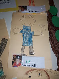 Measurement with Jack and the Beanstalk - maybe do this with the giant's feet? Measurement Kindergarten, Measurement Activities, Math Activities For Kids, Kindergarten Science, Spring Activities, Book Activities, Early Years Topics, Traditional Fairy Tales, Fairy Tales Unit