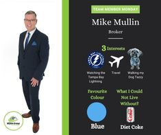 Team Member Monday Get to know Mike!! 🚨 Mike has had extensive knowledge in the sales and service industry for over 30 years. Mike is a logical thinker and helps guide you through the process of buying and selling which can be a very emotional experience. When Mike is not working he loves to watch the Tampa Bay Lightning ⚡️, Walk his dog Tazzy 🐶🐾, or Travel✈️🏝! The Mullin Group 519-941-5151 #mullingroup #onthemove #meettheteam