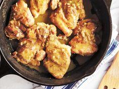 Un poulet à la dijonnaise prêt en moins de 30 minutes