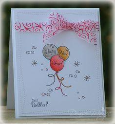 Got Bubbles? _pb; New Year's Card