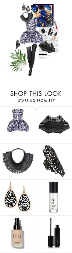"""""""I'll keep you my dirty little secret."""" by brook-s18 ❤ liked on Polyvore featuring Martin Grant, Alexander McQueen, Hayden-Harnett, Repossi, Pomellato, Charlotte Russe, Bobbi Brown Cosmetics and Marc Jacobs"""