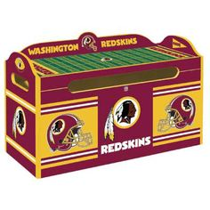 Washington Redskins Toy Chest
