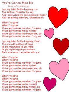 cups lyrics pitch perfect   You're Gonna Miss Me Lyrics