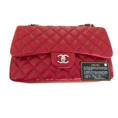 0ae7ef4378bf Sacs à main Chanel TIMELESS Cuir Rouge ref.110707 - Joli Closet Chanel  Timeless