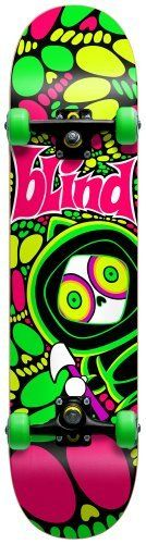 Blind Kenny Tripped Out Complete Skateboard (7.6-Inch) by Blind. $100.00